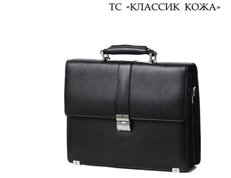 """Стильно, практично, солидно - мужские портфели от  """"КЛАССИК КОЖА """" ."""