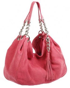 169a257395e3 Розовая замшевая сумка
