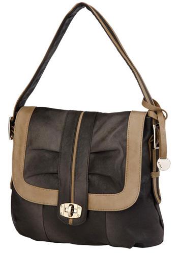 Стильная коричневая сумка Pola.